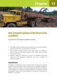 Anti-corruption policies in the forest sector and REDD+