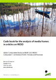Code book for the analysis of media frames in articles on REDD