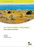 The context of REDD+ in Mozambique: Drivers, agents, and institutions