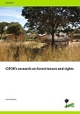 CIFOR's research on forest tenure and rights