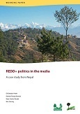 REDD+ politics in the media: A case study from Nepal