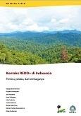 Konteks REDD+ di Indonesia: Pemicu, pelaku, dan lembaganya