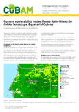 Current vulnerability in the Monte Al�n – Monts de Cristal landscape, Equatorial Guinea