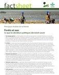 For�ts et eau: ce que les décideurs politiques devraient savoir