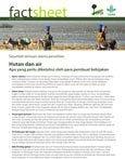 Hutan dan air: apa yang perlu diketahui oleh para pembuat kebijakan