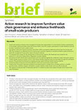 Action research to improve furniture value chain governance and enhance livelihoods of small-scale producers: synthesis
