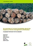 An overview of current knowledge about the impacts of forest management certification: a proposed framework for its evaluation