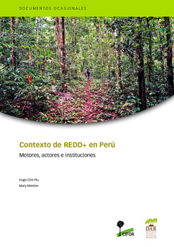 Contexto de REDD+ en Perú: motores, actores e instituciones