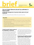 The use of pigüe (Piptocoma discolor) by smallholders in Napo, Ecuador: sustainable management of a pioneer timber species for local livelihoods