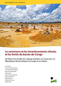 Le commerce et les investissements chinois et les forêts du bassin du Congo: Synthèse des études de cadrage réalisées au Cameroun, en République démocratique du Congo et au Gabon