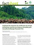 Avalia��o dos impactos da certifica��o de manejo de florestas naturais nos tr�picos concedida pelo Conselho de Manejo Florestal (FSC)