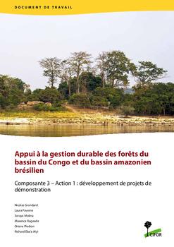Appui � la gestion durable des for�ts du bassin du Congo et du bassin amazonien br�silien: Composante 3 – Action 1: développement de projets de démonstration