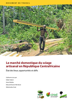 Le march� domestique du sciage artisanal en R�publique Centrafricaine: État des lieux, opportunités et défis