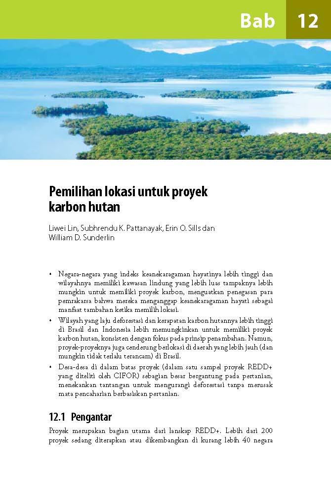 Pemilihan lokasi untuk proyek karbon hutan