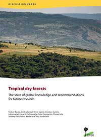 Tropical dry forests: The state of global knowledge and recommendations for future research