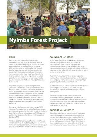 Nyimba forest project