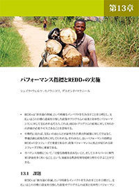 Performance indicators and REDD+ implementation [Japanese]