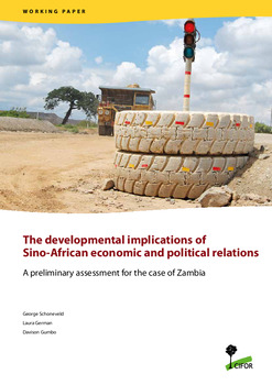 The developmental implications of Sino-African economic and political relations