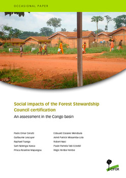 Social impacts of the Forest Stewardship Council certification