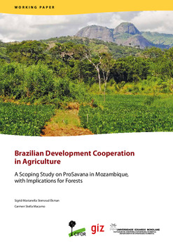 Brazilian Development Cooperation in Agriculture: A Scoping Study on ProSavana in Mozambique, with Implications for Forests