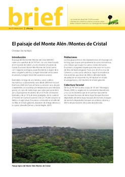 El paisaje del Monte Alén / Montes de Cristal