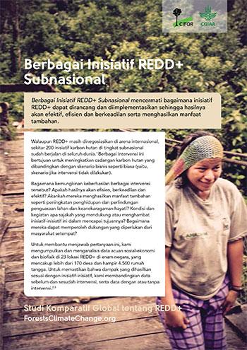 Berbagai Inisiatif REDD+ Subnasional