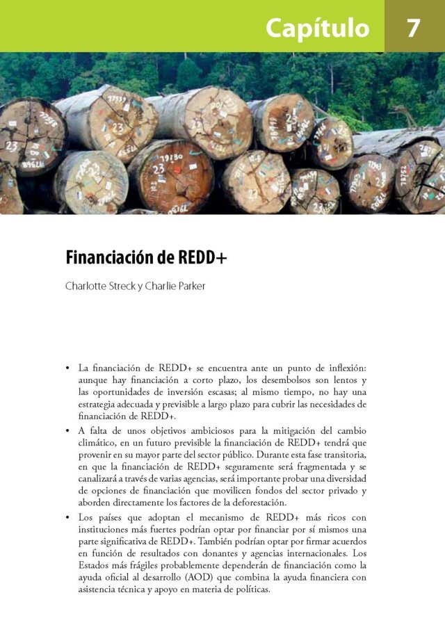 Financiacion de REDD+