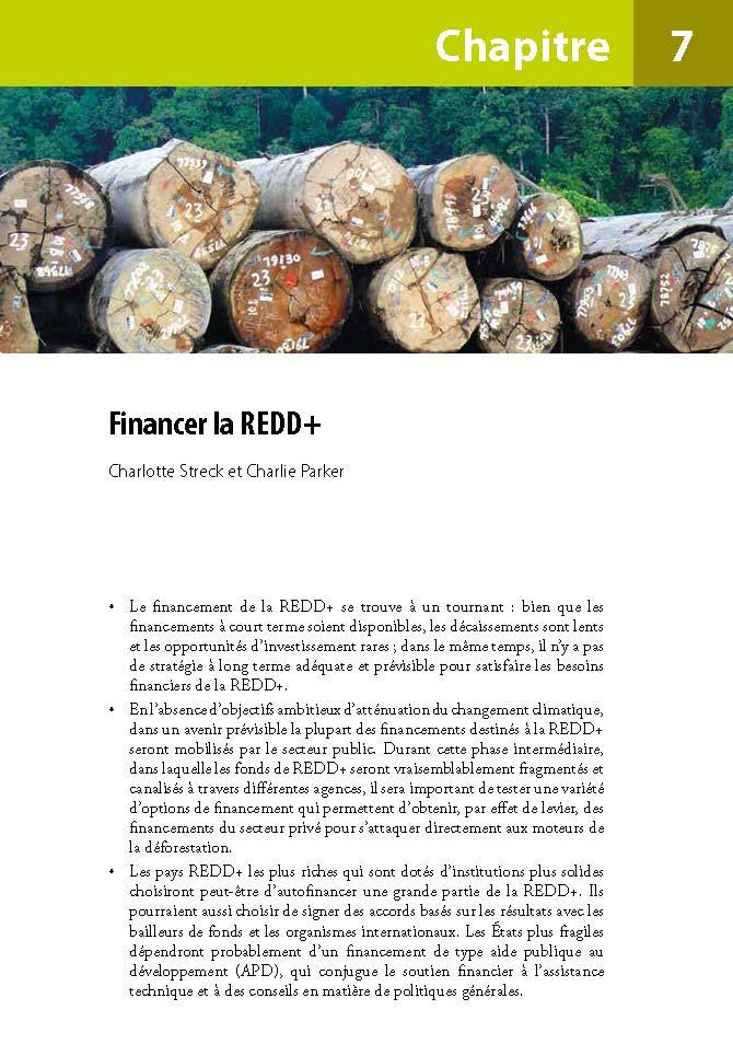 Financer la REDD+