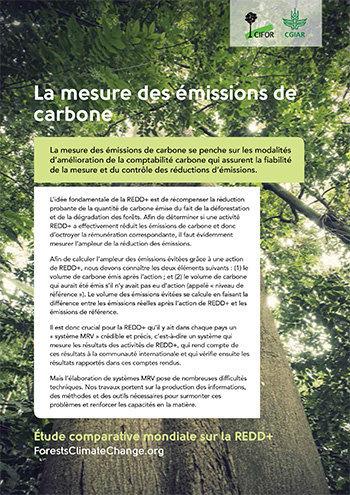 La mesure des émissions de carbone