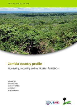 Zambia country profile: Monitoring, reporting and verification for REDD+