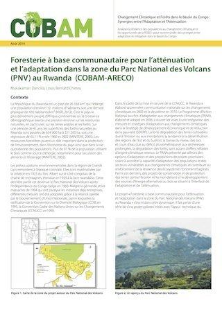 Foresterie � base communautaire pour l'att�nuation et l'adaptation dans la zone du Parc National des Volcans (PNV) au Rwanda (COBAM-ARECO)