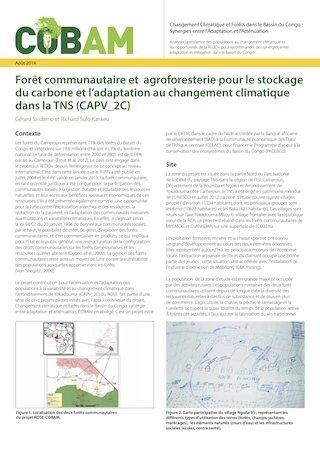 Forêt communautaire et agroforesterie pour le stockage du carbone et l'adaptation au changement climatique dans la TNS (CAPV_2C)