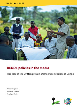 REDD+ policies in the media: The case of the written press in Democratic Republic of Congo