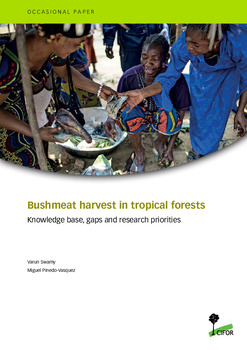 Bushmeat harvest in tropical forests: Knowledge base, gaps and research priorities