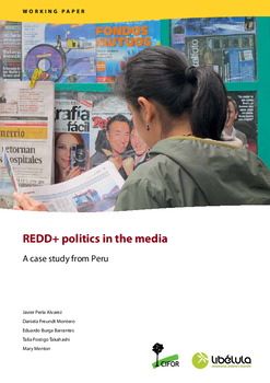 REDD+ politics in the media: A case study from Peru