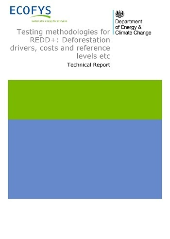 Testing methodologies for REDD+: Deforestation drivers, costs and reference levels