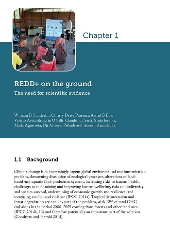 REDD+ on the ground: The need for scientific evidence