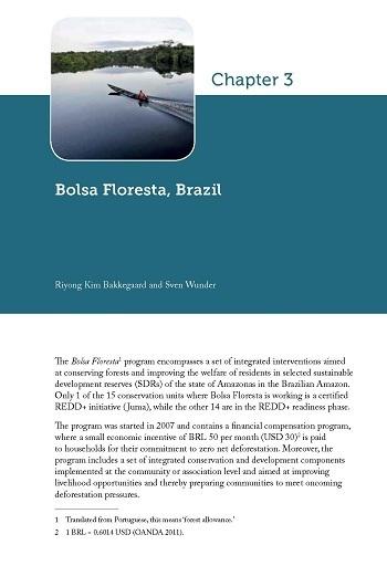 Bolsa Floresta, Brazil