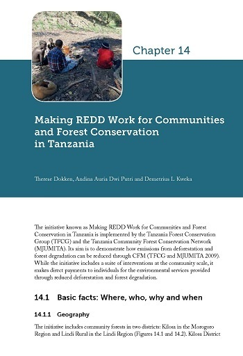 Making REDD Work for Communities and Forest Conservation in Tanzania