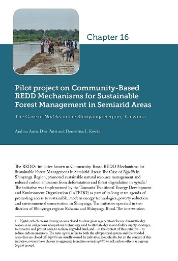 Pilot project on Community-Based REDD Mechanisms for Sustainable Forest Management in Semiarid Areas: The Case of Ngitilis in the Shinyanga Region, Tanzania