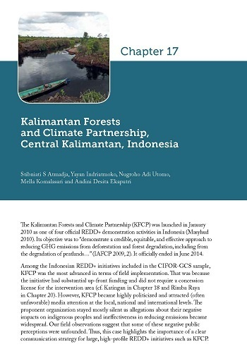 Kalimantan Forests and Climate Partnership, Central Kalimantan, Indonesia