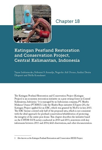 Katingan Peatland Restoration and Conservation Project, Central Kalimantan, Indonesia