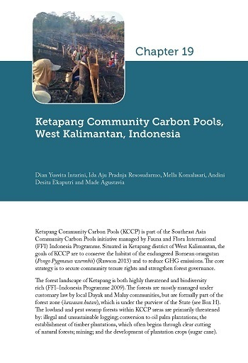 Ketapang Community Carbon Pools, West Kalimantan, Indonesia