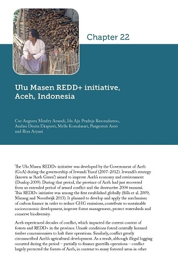 Ulu Masen REDD+ initiative, Aceh, Indonesia