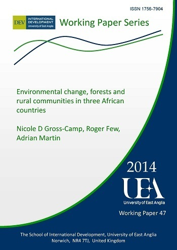 Environmental change, forests and rural communities in three African countries