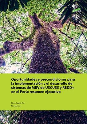 Oportunidades y precondiciones para la implementación y el desarrollo de sistemas de MRV de USCUSS y REDD+ en el Perú: resumen ejecutivo