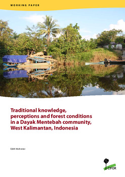 Traditional knowledge, perceptions and forest conditions in a Dayak Mentebah community, West Kalimantan, Indonesia