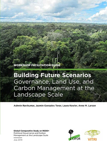 Building future scenarios: Governance, land use and carbon management at the landscape scale