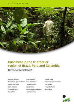 Bushmeat in the tri-frontier region of Brazil, Peru and Colombia: Demise or persistence?
