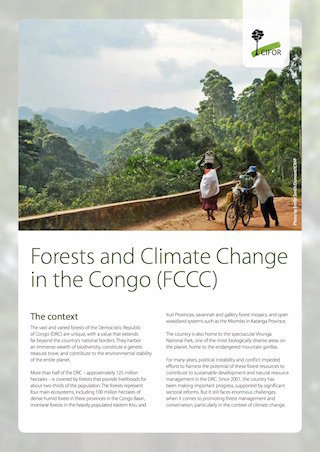 Forests and Climate Change in the Congo (FCCC)